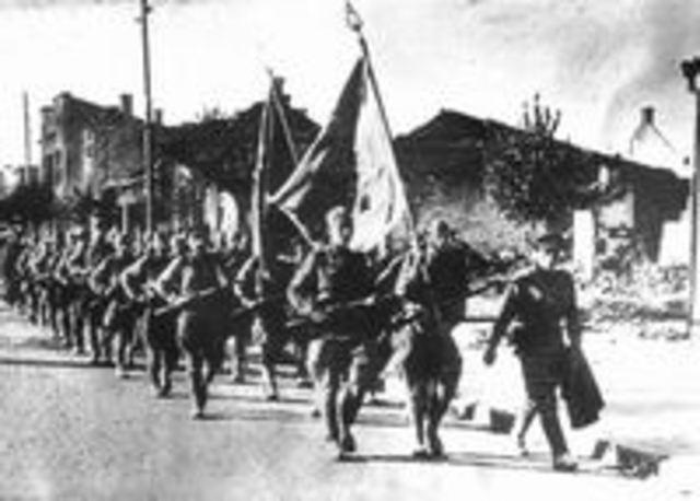 Город был освобождён 8 июля 1944 года от фашистких захватчиков