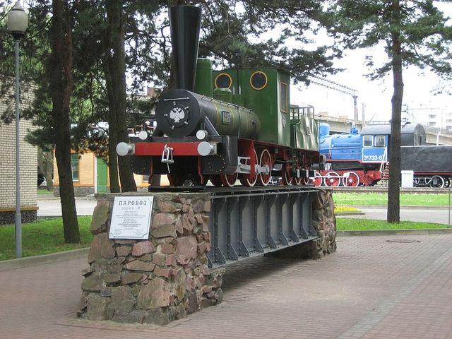 Открытие Барановического музея железнодорожной техники