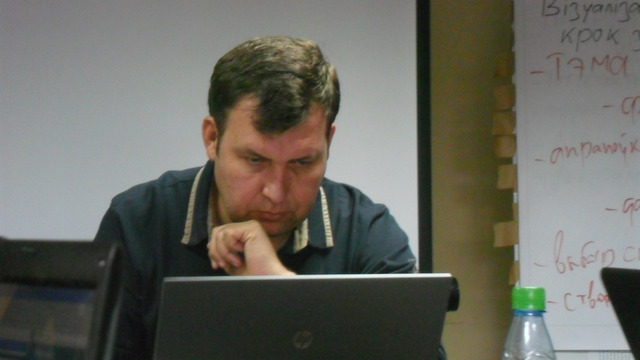 Витовт Рудник провел занятие в ШМЖ.
