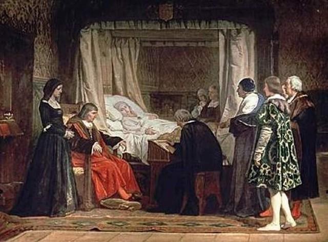 Muerte y testamento de Isabel