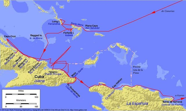 Partida de Cristóbal Colón