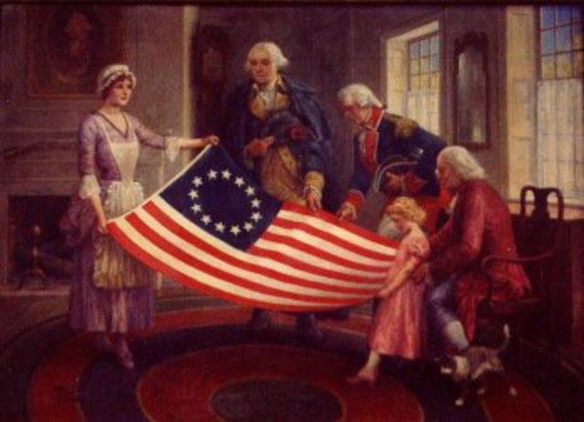 La declaración de la independencia de EE.UU