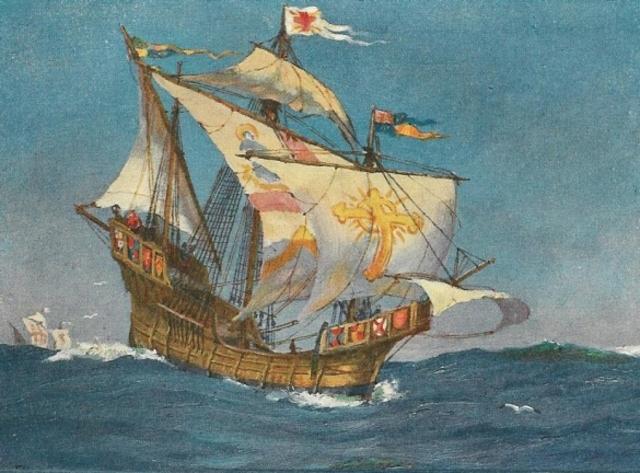 John's first voyage!