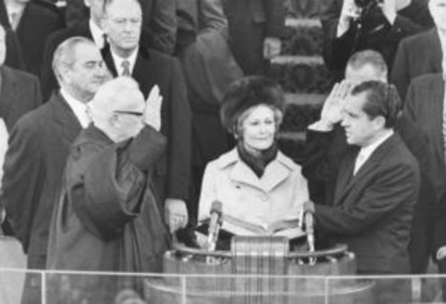 Inauguration of Nixon