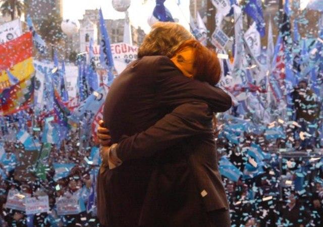 Se Casó con Cristina Fernandez