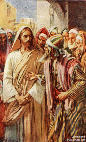Jesus Addresses His Opponents