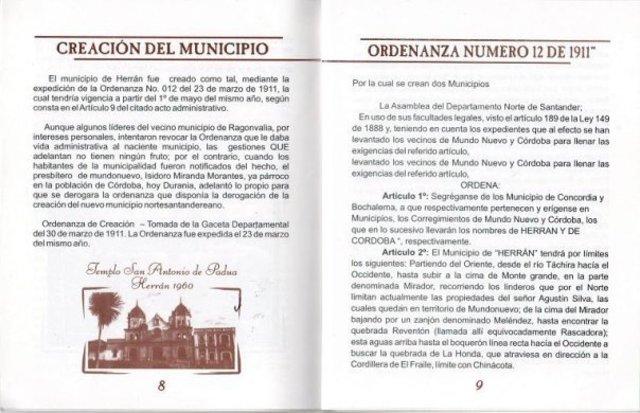 Herran como municipio