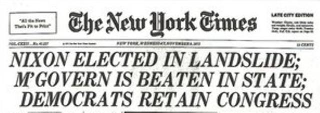 Nixon Re-election