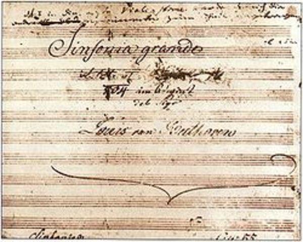 "Premier of Third Symphony, ""Eroica"""