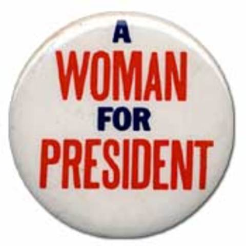 First Female President, Equal Rights for All, Healthcare for Everyone, Peace