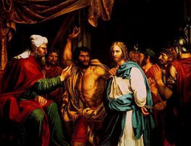 Sanhedrin Night Trial of Jesus