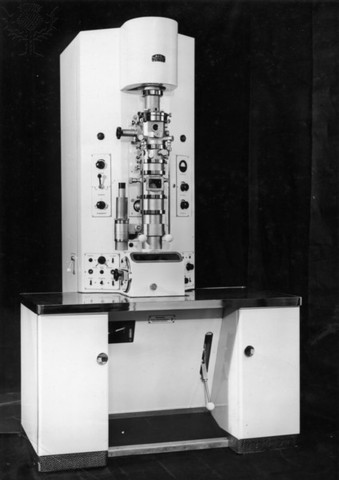 Electron microscope invented