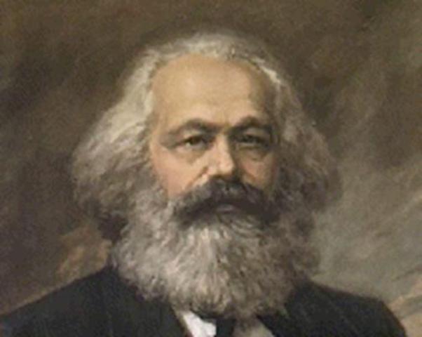 Karl Marx (1818-1883) La evolución es central en esta teoría. Las relaciones económicas llevan a una
