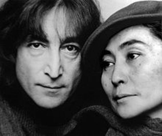 Lennon and Yoko got married