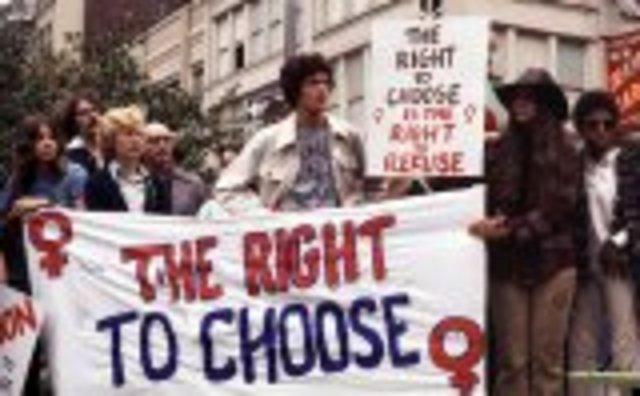 1973 -- Roe vs. Wade
