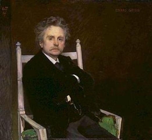 Nacionalisme - Edvard Grieg (1843-1907)