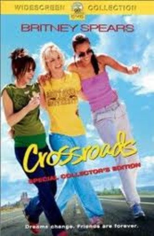Released first film crossroads