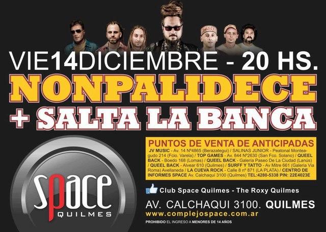 Nonpalidece y SLB en Quilmes