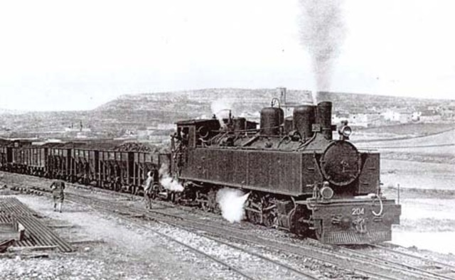 El ferrocarril.