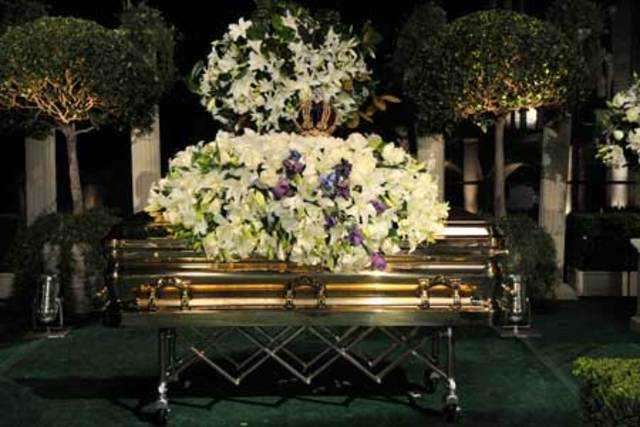 Michael Jackson finally buried!