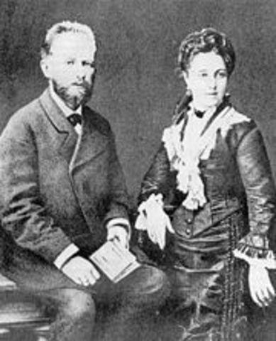 Married Former Student Antonina Miliukova