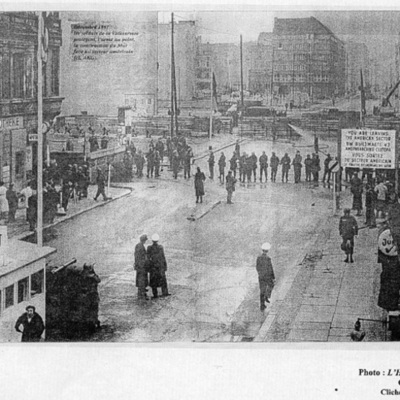 Frise chronologique Berlin timeline