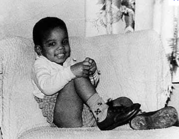 Michael Jackson was born