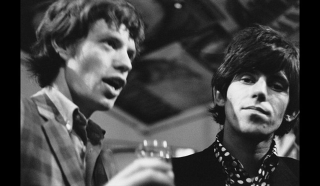 Keith Richards et Mick Jagger se rencontrent