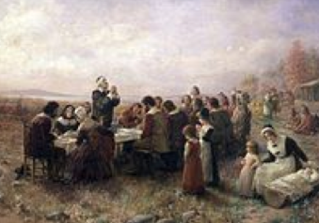 Settlers First Thanksgiving
