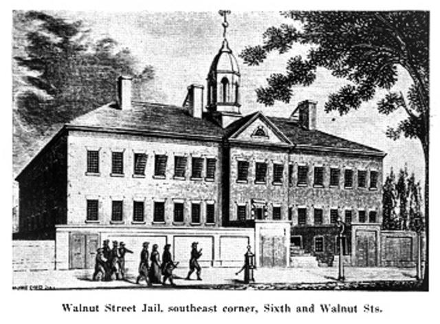 Education in Walnut Street Jail