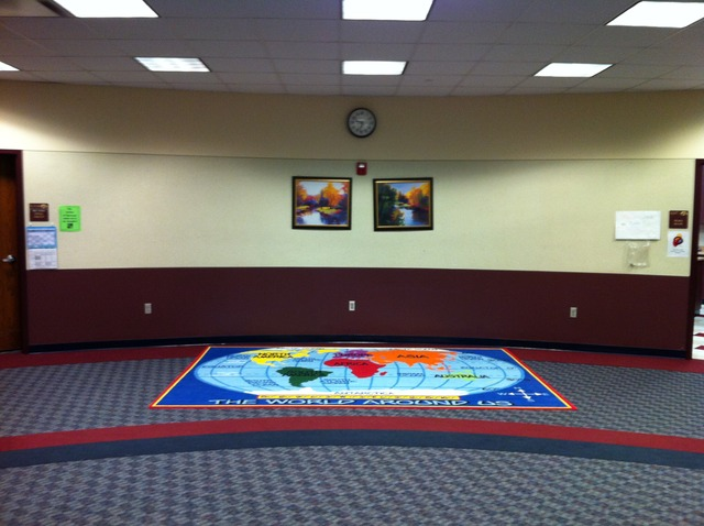 Rug Arrival & Placement