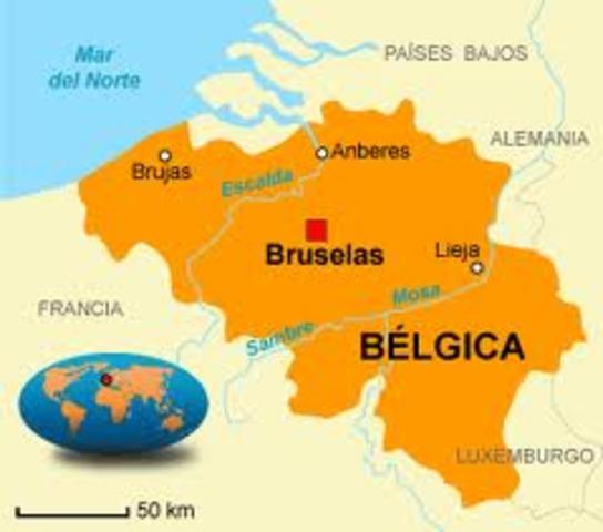 Nacido en Bélgica (Brujas)