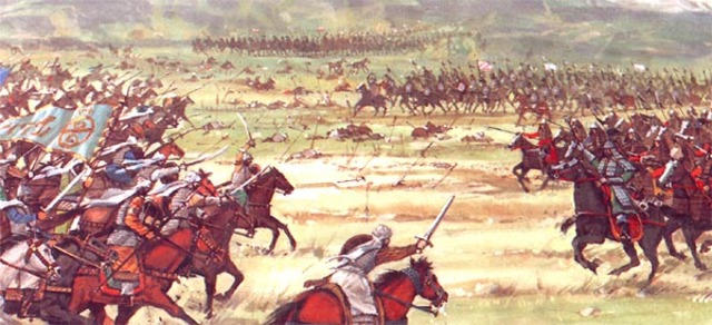 The Safavids are defeated by the Ottomans at Chaldiran.