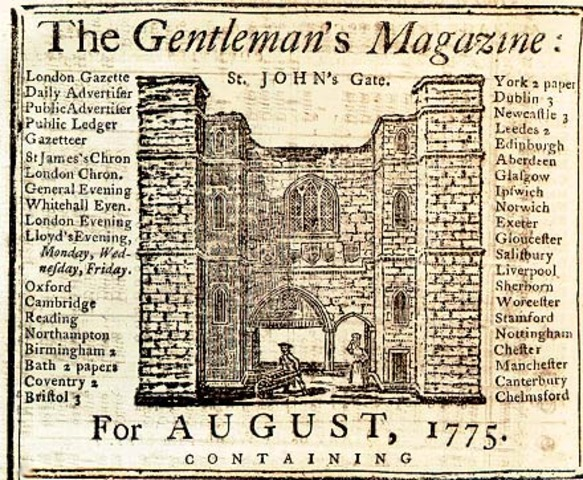 The Gentleman's Magazine Published