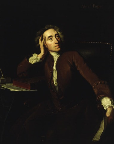 Deaths of Alexander Pope and Jonathan Swift