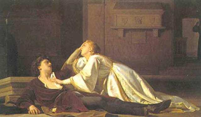 What is Act IV about in Romeo and Juliet?