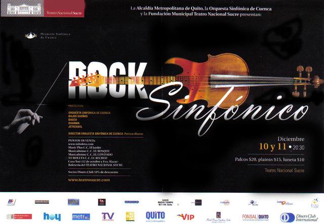 El rock sinfonico