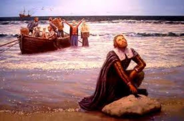 Pilgrims immigrated to America