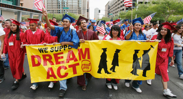 The DREAM Act enforced by President Obama