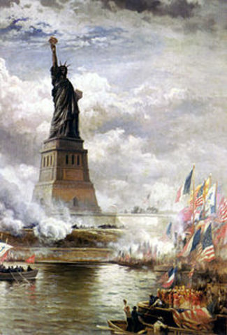 Statue of Liberty gifted to US by France