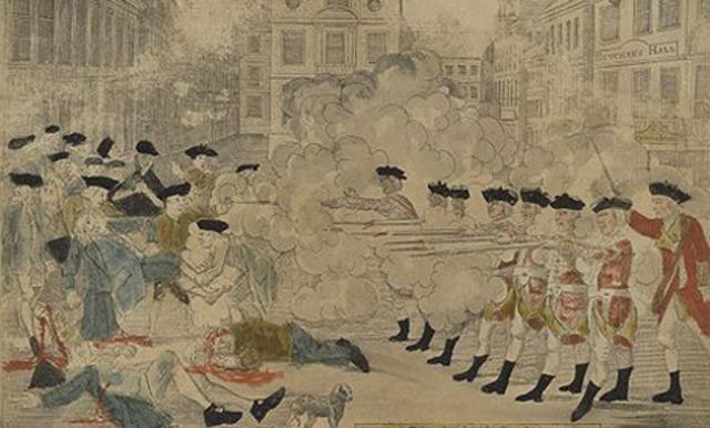 La Masacre de Boston