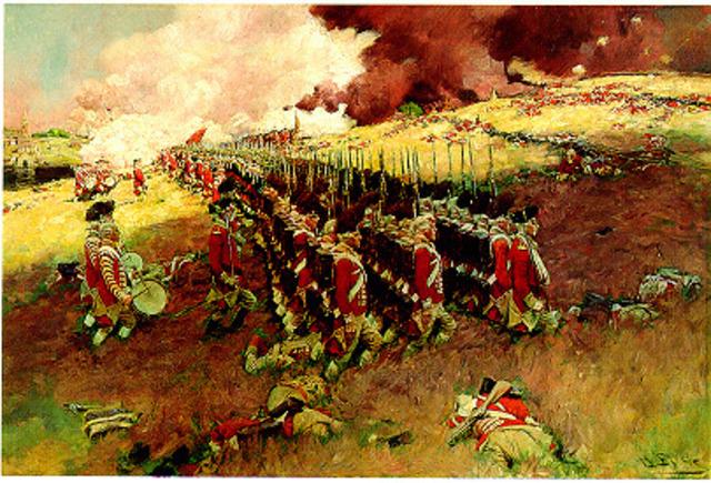 Batalla De Bunkerhill