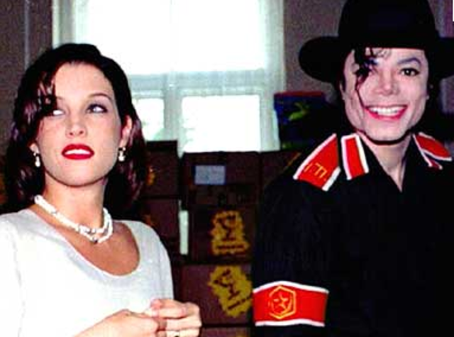 Michael Jackson and Lisa Marie Presley are married