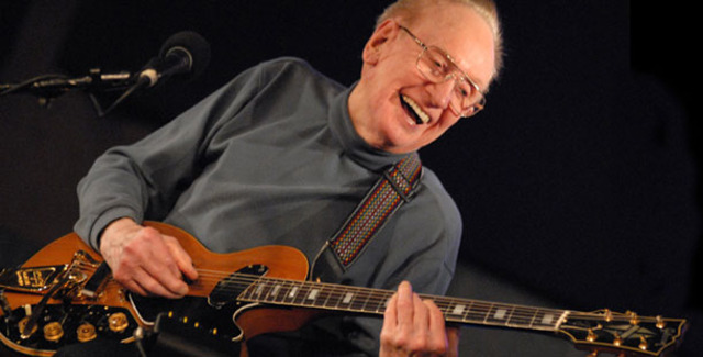 Les Paul has his own guitar by Gibson patented