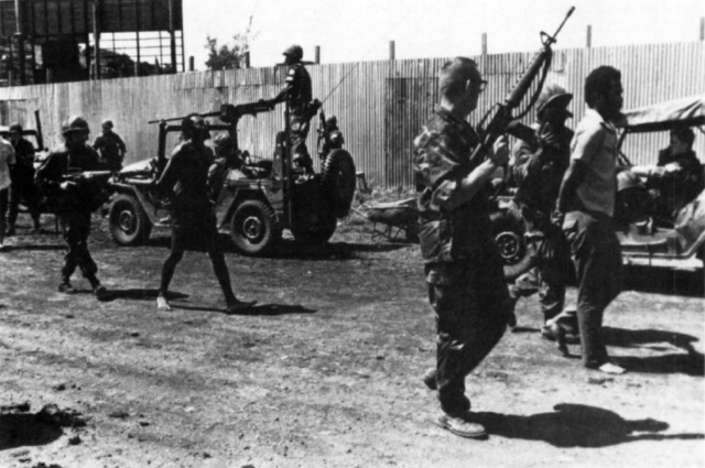 United States Invade Grenada; The U.S. Press Is Not Given Any Access