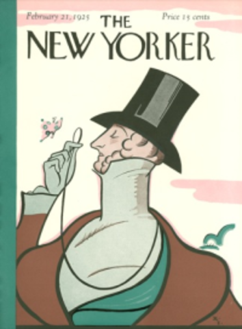 1925 - Ross publishes The New Yorker