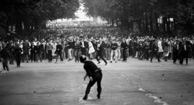 Student Protests in Paris