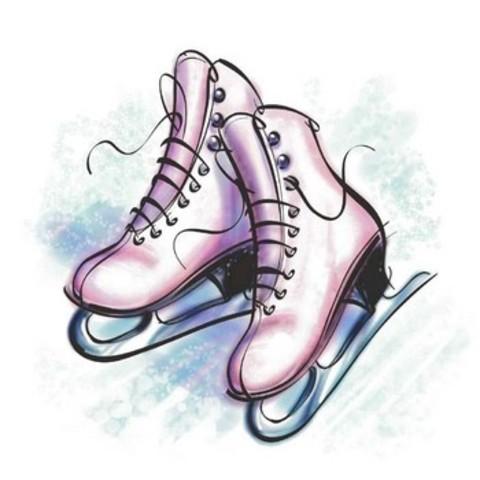 Faire du patin á glace