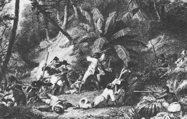 The day the haitian slaves Rvolted