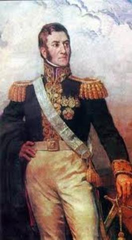 Jose De San Martin and Simon Bolivar